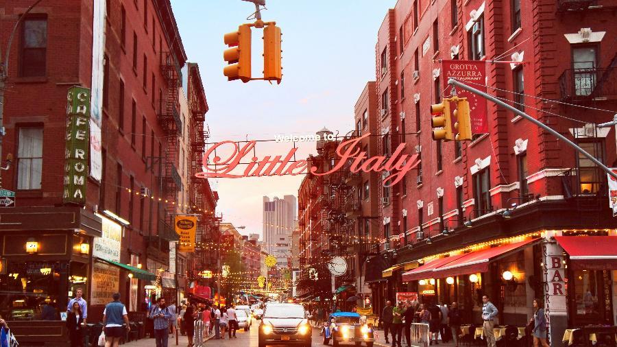 O bairro de Little Italy, em Nova York - iStock