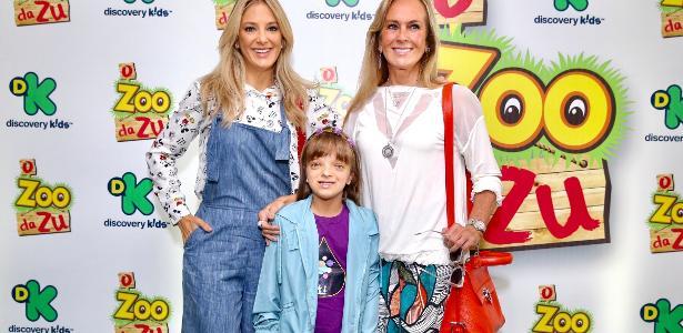 Ticiane e Helô Pinheiro acompanham estreia de Rafaella Justus como atriz, em série da Discovery Kids
