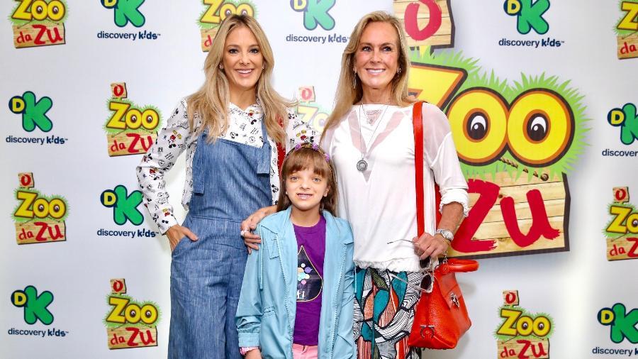 Ticiane e Helô Pinheiro acompanham estreia de Rafaella Justus como atriz, em série da Discovery Kids - Manuela Scarpa/Brazil News