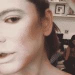 """Mariana Goldfarb vira """"gata"""" - Reprodução/Instagram"""