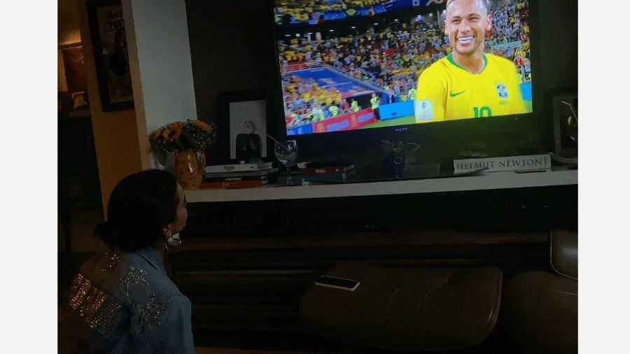 Bruna Marquezine assiste ao jogo do Brasil - Reprodução/Instagram