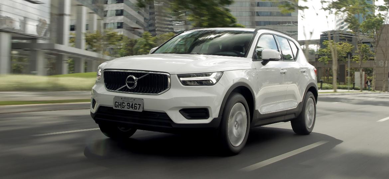 XC40 T4 chega às lojas nos próximos dias e complementa a linha 2019 do SUV compacto da Volvo - João Mantovani/Divulgação