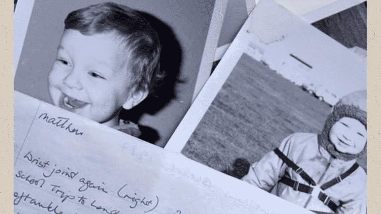 A hemofilia, que levou Matt ao tratamento por meio do qual foi contaminado, provocou limitações durante a infância - ARQUIVO PESSOAL