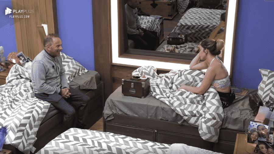 Rafael Ilha conversa com Nadja Pessoa - Reprodução/Play Plus