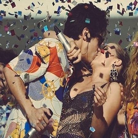 Valentim e Rosa em trio elétrico em Salvador - Reprodução/Instagram