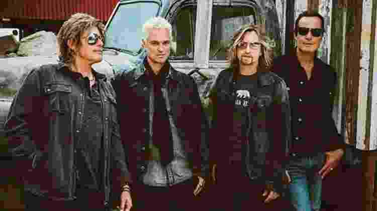 Stone Temple Pilots sem o vocalista Scott Weiland, que morreu em 2015 - Divulgação - Divulgação