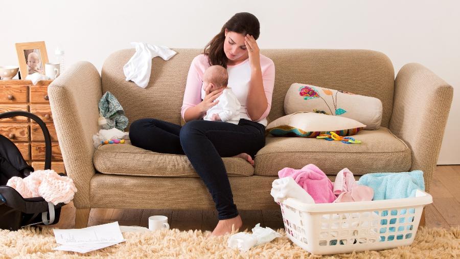 As cobranças sobre as mães solo começa muitas vezes já na gestação - Getty Images/iStockphoto