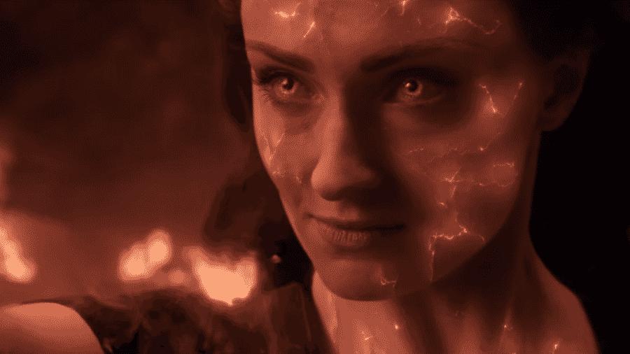 Sophie Turner como Jean Grey, a Fênix Negra - Reprodução/Youtube