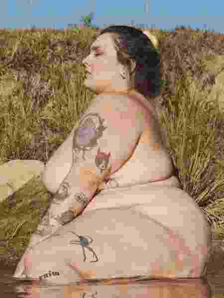 Modelo Bia Gremioné vítima de gordofobia nas redes - Reprodução/Twitter @biagremion