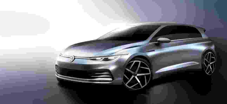 Oitava geração do Golf estreia na Europa em dezembro; carro ícone da VW vai investir na eletrificação e na conectividade - Divulgação