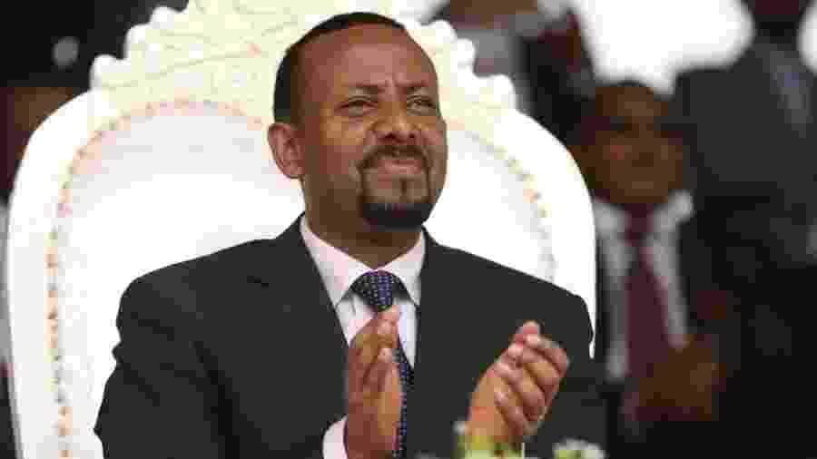 Abiy Ahmed é premiado por acordo que encerrou 20 anos de guerra civil - Reuters