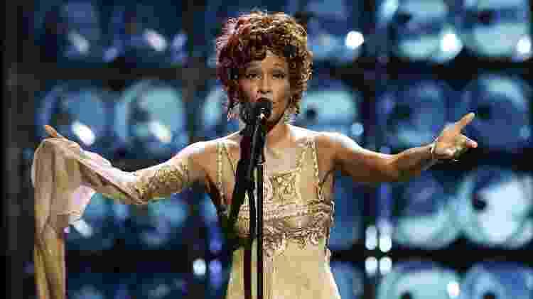 Whitney Houston cantou durante o WMA de 2004 - Pascal Le Segretain/Getty Images - Pascal Le Segretain/Getty Images