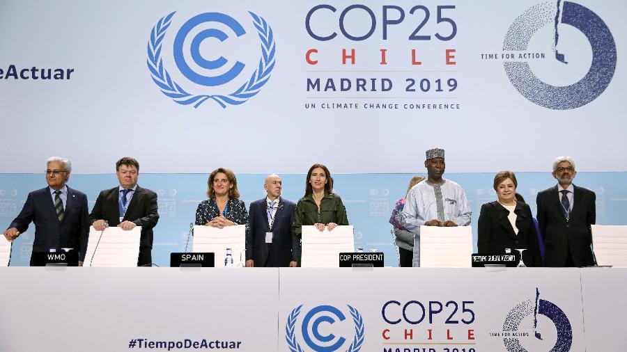 Chefes de estado durante a COP-25, em Madri - Susana Vera/Reuters
