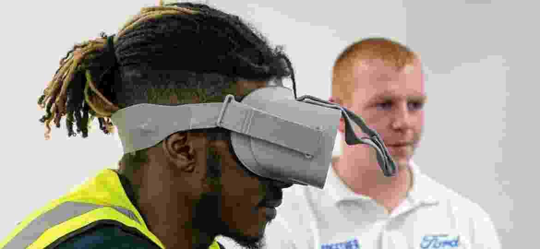 Motoristas usam tecnologia de realidade virtual para vivenciar experiências de ciclistas - Divulgação