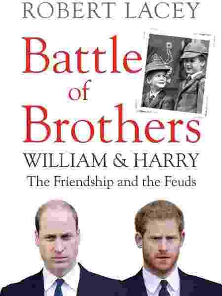 O livro Battle of Brothers: William and Harry - the Friendship and the Feuds - Divulgação/Amazon - Divulgação/Amazon
