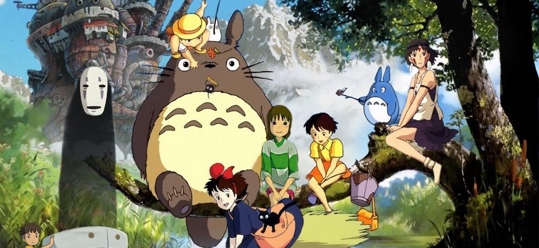 Personagens do Studio Ghibli que estarão presentes no novo parque, no Japão - Reprodução