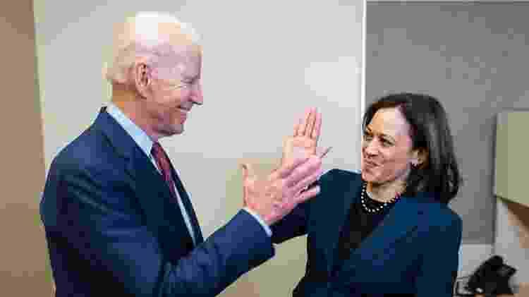 Kamala Harris foi anunciada como vice-presidente de Joe Biden em corrida eleitoral nos EUA - Reprodução/Instagram - Reprodução/Instagram