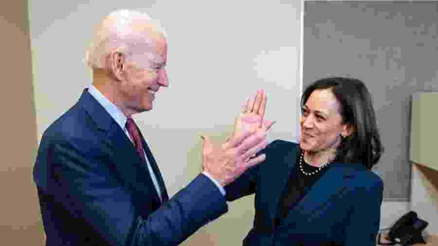 Kamala Harris foi anunciada como vice-presidente de Joe Biden em corrida eleitoral nos EUA - Reprodução/Instagram