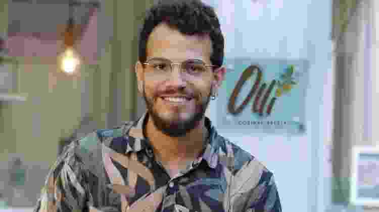 O chef Thawã Calixto foi o convidado do quadro Brasil Cozinha Comigo - Divulgação - Divulgação