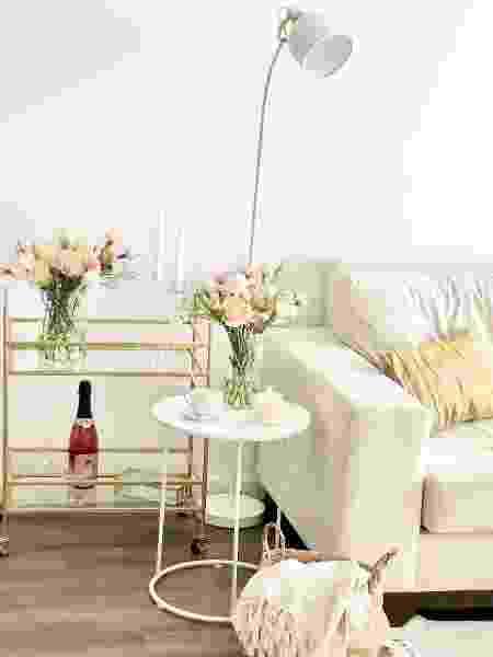 Sala de estar do casal Rafael e Jean - Arquivo Pessoal - Arquivo Pessoal