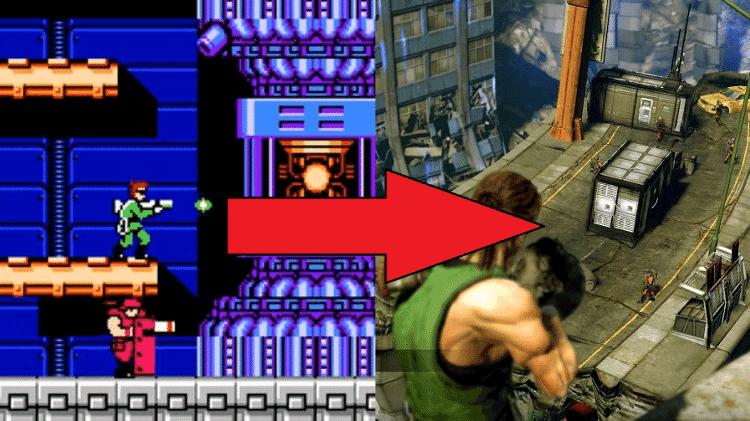 Bionic Commando - Reprodução (Sega) - Reprodução (Sega)