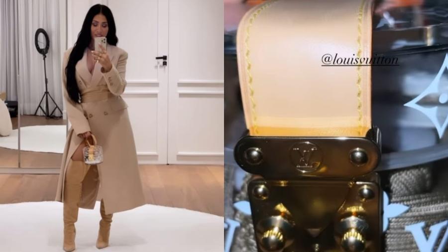 Simaria, da dupla com Simone, posa com porta-joias da Louis Vuitton - Reprodução/Instagram