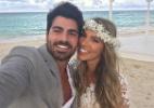 Grávida, ex-BBB Adriana se casa com Rodrigão na República Dominicana