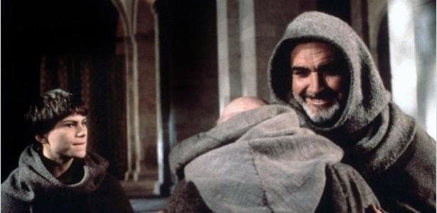 """Sean Connery em cena do filme """"O Nome da Rosa"""" (1986), adaptação da obra de Umberto Eco para o cinema - Divulgação"""