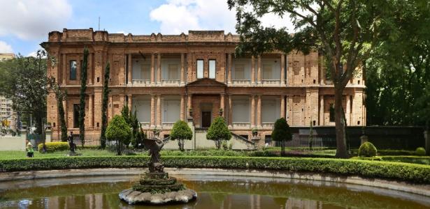 Fachada da Pinacoteca de São Paulo, na região da Luz - Mariana Orsi/Click a Pé