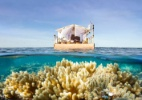Turista poderá se hospedar flutuando na Grande Barreira de Corais - Divulgação