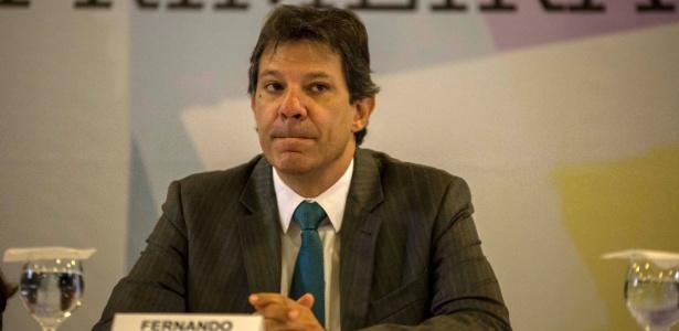 O prefeito de São Paulo, Fernando Haddad (PT) - Suamy Beydoun/Futura Press/Estadão Conteúdo