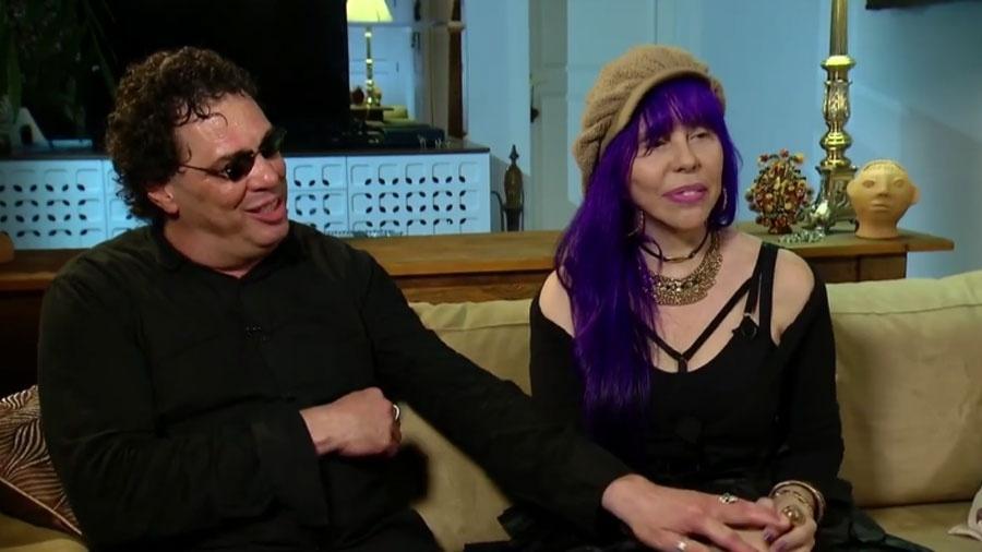 Casagrande e Baby durante entrevista ao Fantástico sobre seu relacionamento - Reprodução/TV Globo