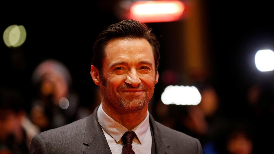 """Ator Hugh Jackman chega a première de """"Logan"""" - REUTERS/Axel Schmidt"""