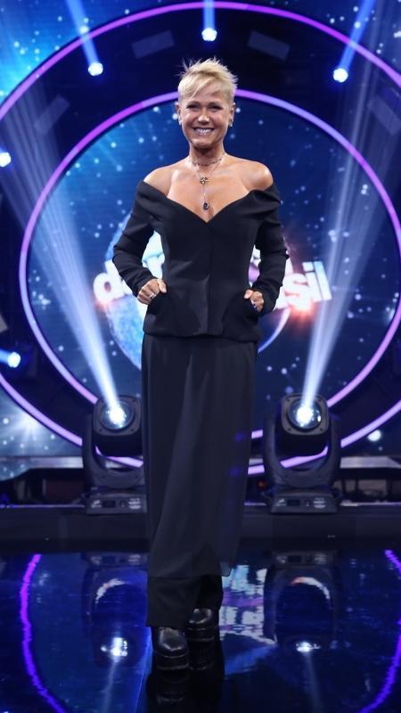 "Xuxa apresenta o reality ""Dancing Brasil"", na Record - Anderson Borde/AgNews"