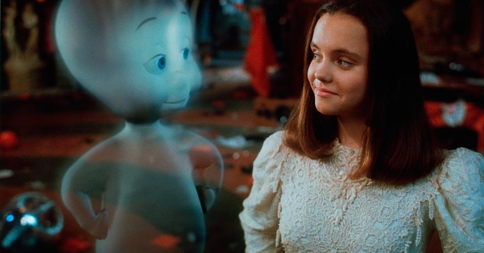 Cena do filme ?Gasparzinho, o Fantasminha Camarada? (1995), de Brad Silberling