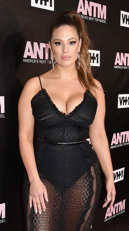 A modelo plus size Ashley Graham - Getty Images