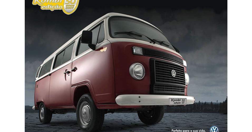 Anúncio Volkswagen Kombi 2007