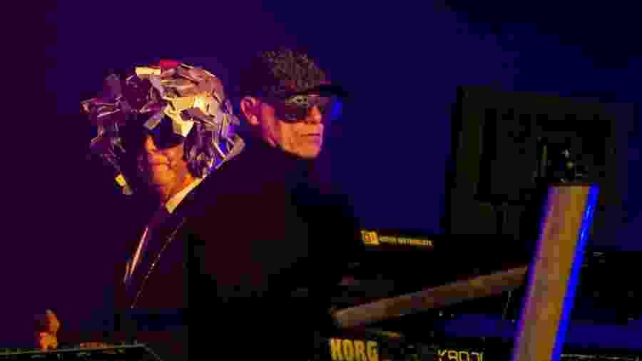 Pet Shop Boys se apresenta no Palco Mundo do Rock in Rio 2017 - Bruna Prado/UOL