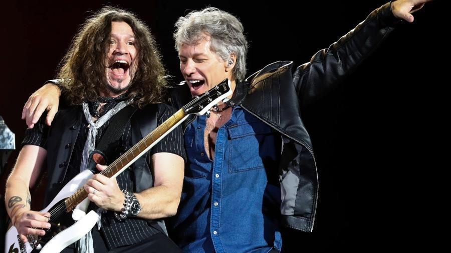 Bon Jovi animou o público no segundo dia de shows do São Paulo Trip Festival 2017 - Manuela Scarpa/Brazil News