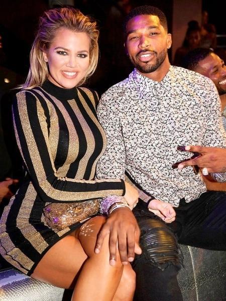 Khloe Kardashian e Tristan Thompson - Reprodução