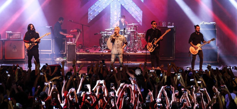 Grupo fez show para 3,2 mil na Audio, em São Paulo - Osmar Portilho/UOL