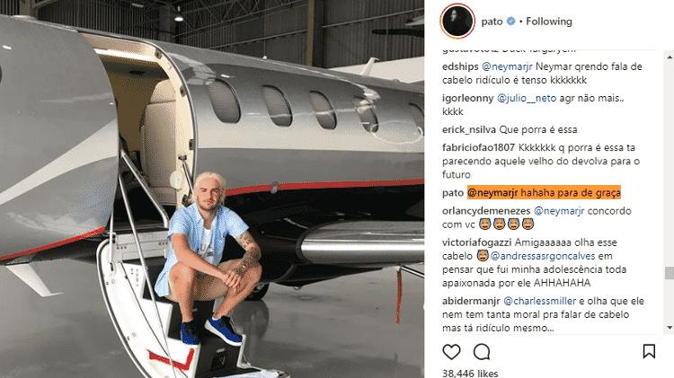 Neymar Pato - Reprodução/Instagram - Reprodução/Instagram