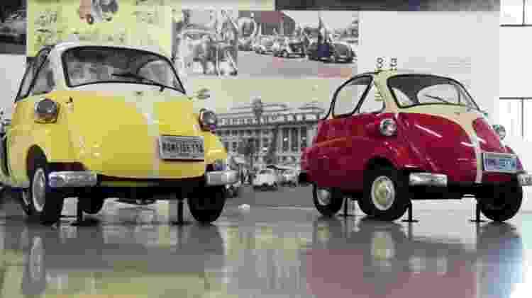 Romi-Isetta era um carrinho visionário - Reprodução - Reprodução