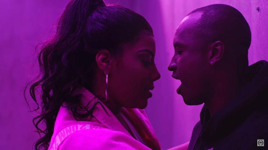 """Ludmilla e Thiaguinho em cena do clipe de """"Só Vem"""" - Reprodução/YouTube"""