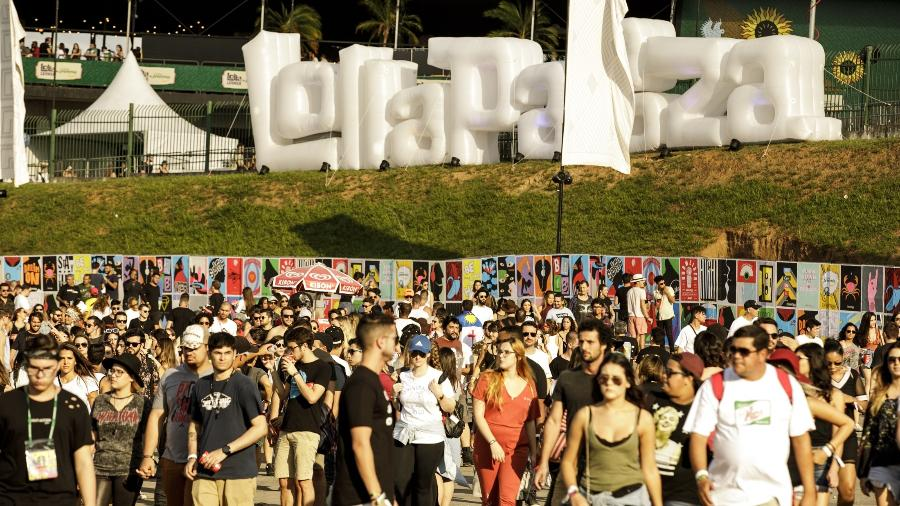 Público no terceiro dia de Lollapalooza Brasil 2018 - Mariana Pekin/UOL
