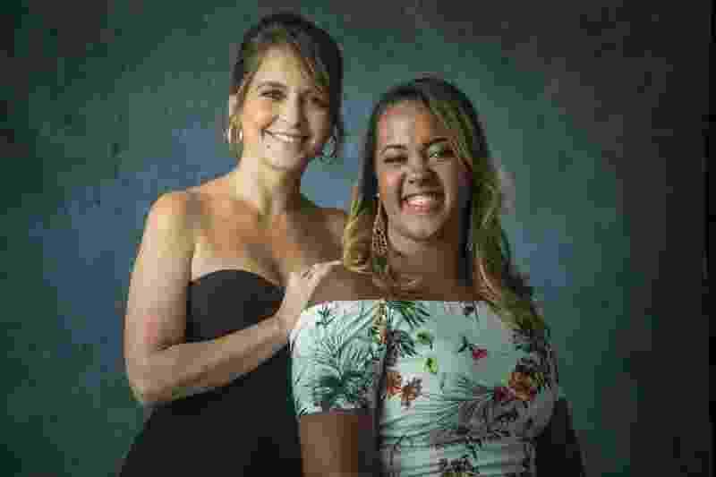 """Germana Soares será homenageada no """"Caldeirão do Huck"""" pela sua atuação na saúde e Cláudia Abreu será sua madrinha - Raquel Cunha/Globo"""