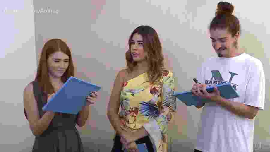 """Vivian Amorim estreou no """"Vídeo Show"""" - Reprodução/Globo"""