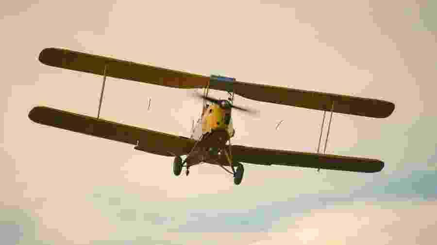 Aficionados por aeronaves antigas podem aproveitar as paradas para tirar selfies - Reprodução