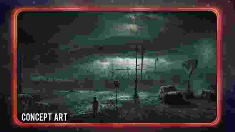 """Imagem utilizada pela série """"Stranger Things"""" - Reprodução - Reprodução"""