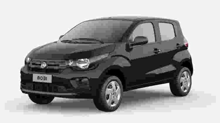 Fiat Mobi Easy Comfort 2019 - Divulgação - Divulgação